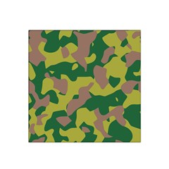 Camouflage Green Yellow Brown Satin Bandana Scarf by Mariart