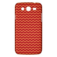 Chevron Wave Red Orange Samsung Galaxy Mega 5 8 I9152 Hardshell Case  by Mariart