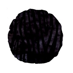Skin4 Black Marble & Black Watercolor (r) Standard 15  Premium Round Cushion  by trendistuff