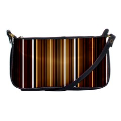 Brown Line Image Picture Shoulder Clutch Bags by Mariart