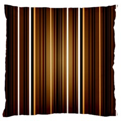 Brown Line Image Picture Large Cushion Case (one Side) by Mariart