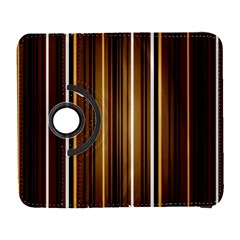Brown Line Image Picture Galaxy S3 (flip/folio) by Mariart