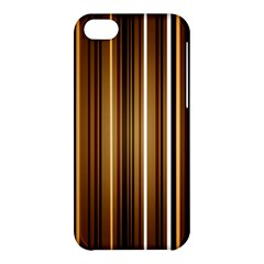 Brown Line Image Picture Apple Iphone 5c Hardshell Case by Mariart