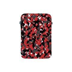 Bloodshot Camo Red Urban Initial Camouflage Apple Ipad Mini Protective Soft Cases by Mariart