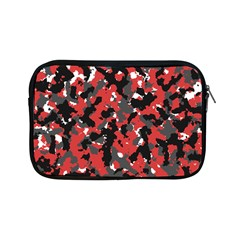 Bloodshot Camo Red Urban Initial Camouflage Apple Ipad Mini Zipper Cases by Mariart