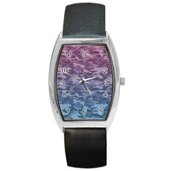 Celebration Purple Pink Grey Barrel Style Metal Watch by Mariart