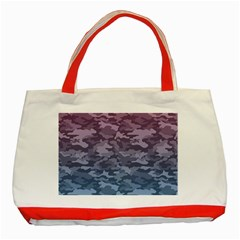 Celebration Purple Pink Grey Classic Tote Bag (red) by Mariart