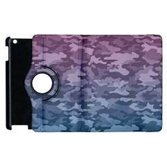 Celebration Purple Pink Grey Apple Ipad 2 Flip 360 Case by Mariart