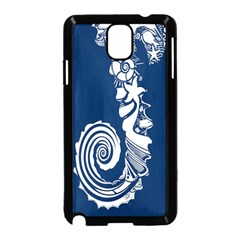 Coral Life Sea Water Blue Fish Star Samsung Galaxy Note 3 Neo Hardshell Case (black) by Mariart