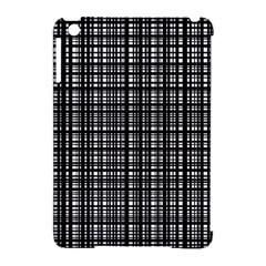 Crosshatch Target Line Black Apple Ipad Mini Hardshell Case (compatible With Smart Cover) by Mariart