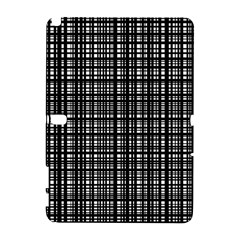 Crosshatch Target Line Black Galaxy Note 1 by Mariart
