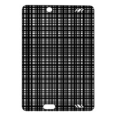 Crosshatch Target Line Black Amazon Kindle Fire Hd (2013) Hardshell Case by Mariart