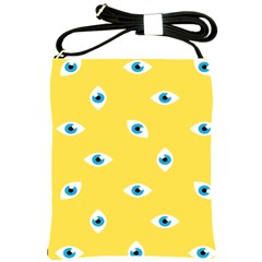 Eye Blue White Yellow Monster Sexy Image Shoulder Sling Bags by Mariart