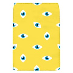 Eye Blue White Yellow Monster Sexy Image Flap Covers (s)  by Mariart
