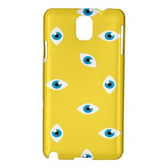 Eye Blue White Yellow Monster Sexy Image Samsung Galaxy Note 3 N9005 Hardshell Case by Mariart