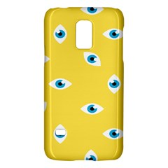 Eye Blue White Yellow Monster Sexy Image Galaxy S5 Mini by Mariart