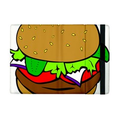 Fast Food Lunch Dinner Hamburger Cheese Vegetables Bread Ipad Mini 2 Flip Cases by Mariart