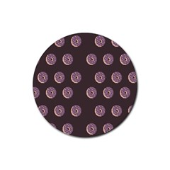 Donuts Rubber Coaster (round)  by Mariart