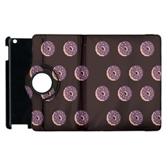 Donuts Apple Ipad 3/4 Flip 360 Case by Mariart