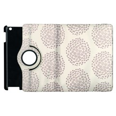 Flower Floral Star Sakura Purple Apple Ipad 2 Flip 360 Case by Mariart