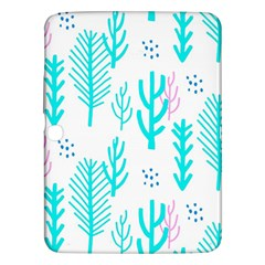 Forest Drop Blue Pink Polka Circle Samsung Galaxy Tab 3 (10 1 ) P5200 Hardshell Case  by Mariart