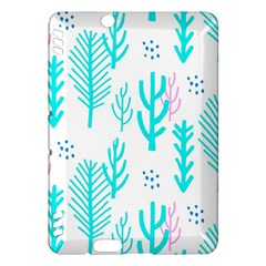 Forest Drop Blue Pink Polka Circle Kindle Fire Hdx Hardshell Case by Mariart