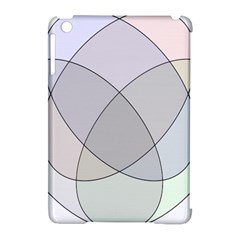 Four Way Venn Diagram Circle Apple Ipad Mini Hardshell Case (compatible With Smart Cover) by Mariart