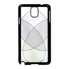 Four Way Venn Diagram Circle Samsung Galaxy Note 3 Neo Hardshell Case (black) by Mariart