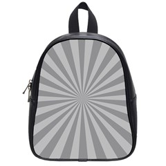 Grey Starburst Line Light School Bags (small)  by Mariart