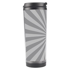 Grey Starburst Line Light Travel Tumbler by Mariart