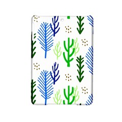Forest Green Drop Blue Brown Polka Circle Ipad Mini 2 Hardshell Cases by Mariart