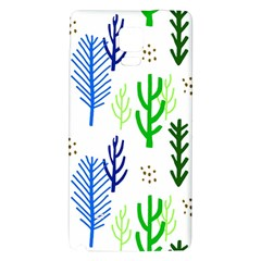 Forest Green Drop Blue Brown Polka Circle Galaxy Note 4 Back Case by Mariart