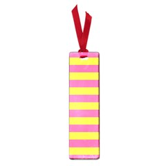 Horizontal Pink Yellow Line Small Book Marks by Mariart
