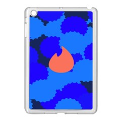 Image Orange Blue Sign Black Spot Polka Apple Ipad Mini Case (white) by Mariart