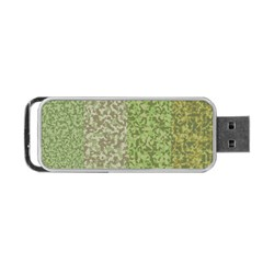 Camo Pack Initial Camouflage Portable Usb Flash (one Side) by Mariart