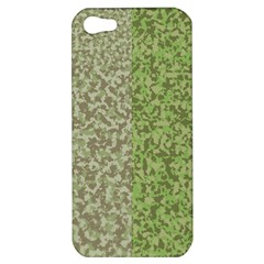 Camo Pack Initial Camouflage Apple Iphone 5 Hardshell Case by Mariart