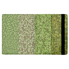 Camo Pack Initial Camouflage Apple Ipad 3/4 Flip Case by Mariart