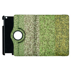Camo Pack Initial Camouflage Apple Ipad 2 Flip 360 Case by Mariart
