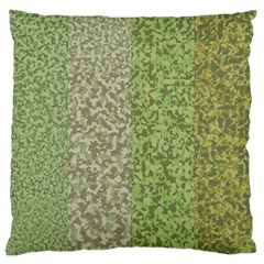Camo Pack Initial Camouflage Large Flano Cushion Case (two Sides) by Mariart