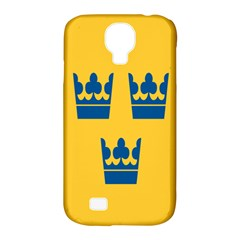 King Queen Crown Blue Yellow Samsung Galaxy S4 Classic Hardshell Case (pc+silicone) by Mariart