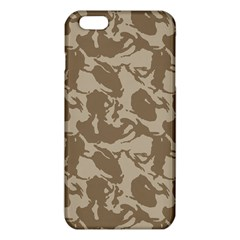 Initial Camouflage Brown Iphone 6 Plus/6s Plus Tpu Case by Mariart