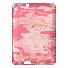 Initial Camouflage Camo Pink Kindle Fire Hdx Hardshell Case by Mariart