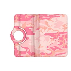 Initial Camouflage Camo Pink Kindle Fire Hd (2013) Flip 360 Case by Mariart