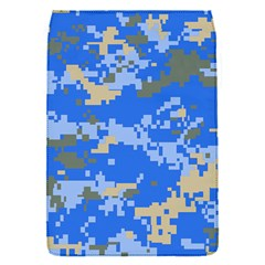 Oceanic Camouflage Blue Grey Map Flap Covers (s)  by Mariart