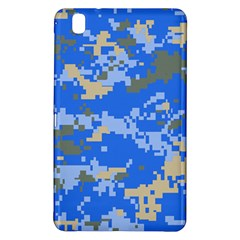 Oceanic Camouflage Blue Grey Map Samsung Galaxy Tab Pro 8 4 Hardshell Case by Mariart