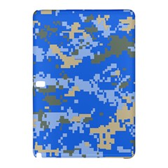 Oceanic Camouflage Blue Grey Map Samsung Galaxy Tab Pro 12 2 Hardshell Case by Mariart