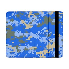 Oceanic Camouflage Blue Grey Map Samsung Galaxy Tab Pro 8 4  Flip Case by Mariart