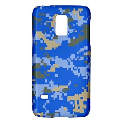 Oceanic Camouflage Blue Grey Map Galaxy S5 Mini by Mariart
