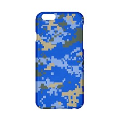 Oceanic Camouflage Blue Grey Map Apple Iphone 6/6s Hardshell Case by Mariart
