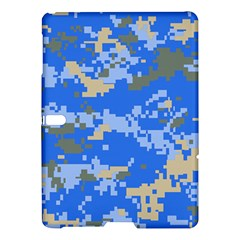 Oceanic Camouflage Blue Grey Map Samsung Galaxy Tab S (10 5 ) Hardshell Case  by Mariart
